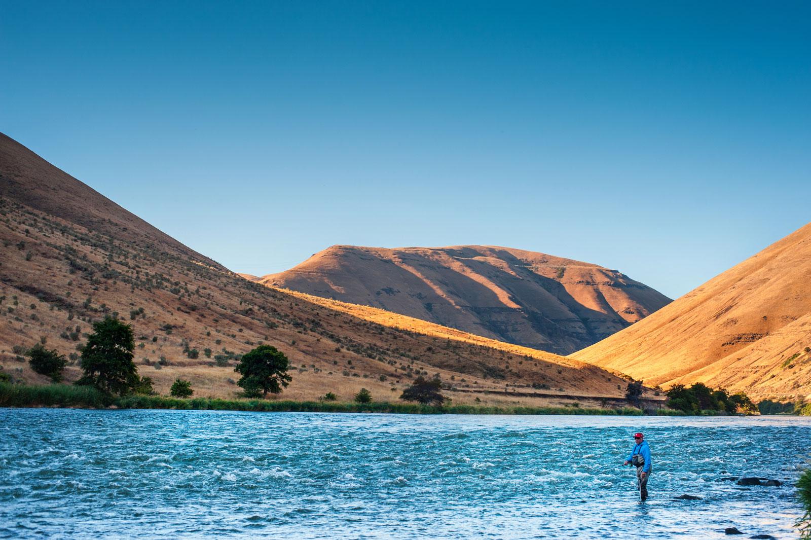 Deschutes River Fly fishing Camp Trips | Renton's River